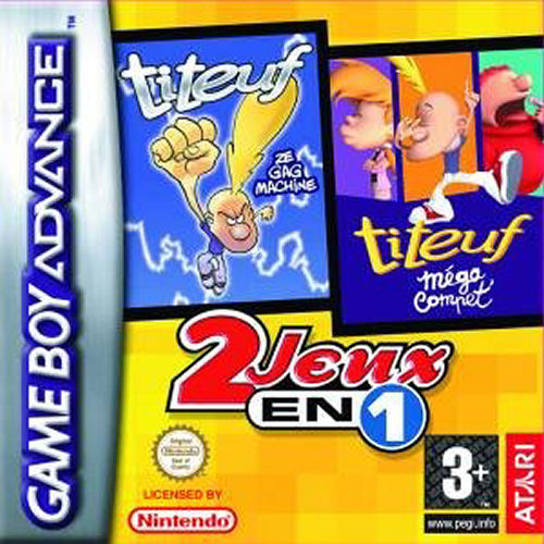 2 in 1 - Titeuf Ze Gagmachine & Titeuf Mega Compet (F)(Eternity) Box Art