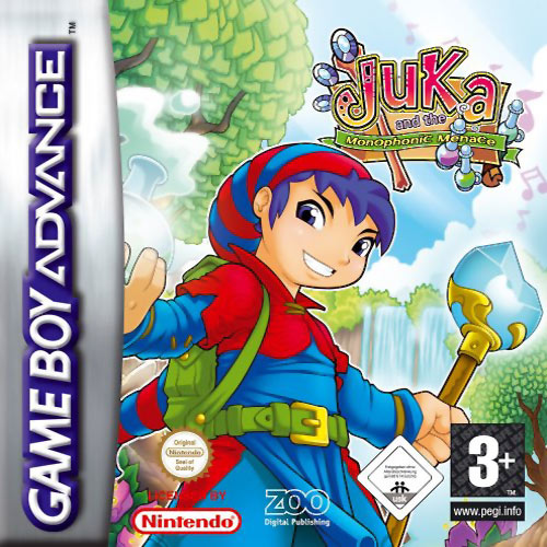 Juka and the Monophonic Menace (E)(Trashman) Box Art
