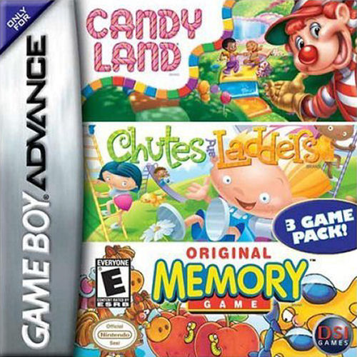3 in 1 - Candy Land, Chutes and Ladders, Memory (U ...