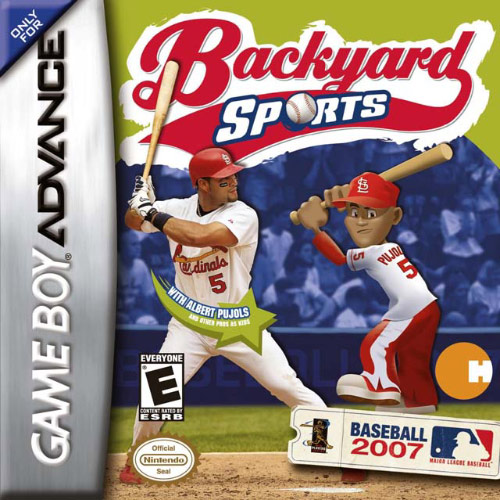Backyard Sports Baseball 2007 (U)(Trashman) Box Art