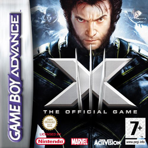 X Men The Official Game E Wrg Rom Gba Roms Emuparadise