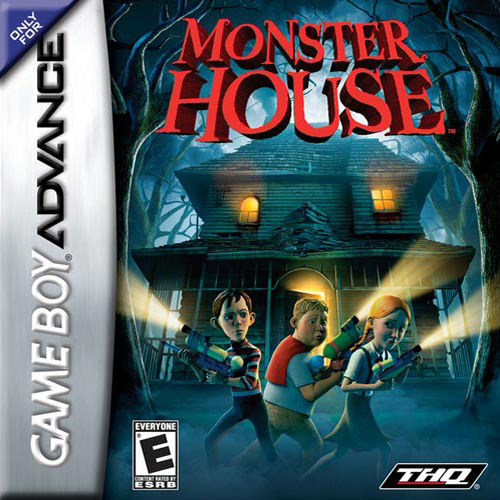 Monster House (U)(Rising Sun) Box Art