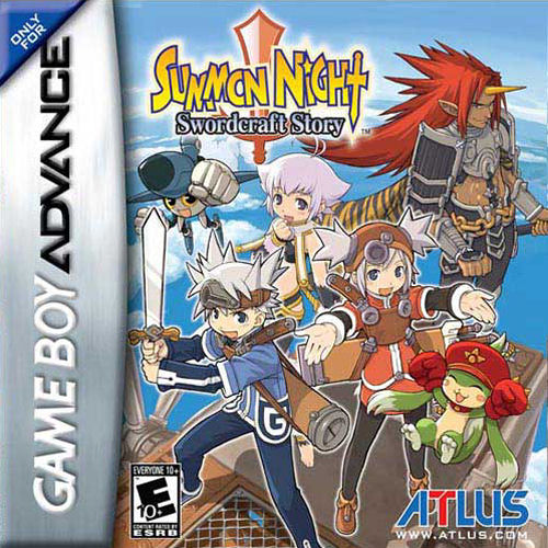 Summon Night - Swordcraft Story (U)(Independent) Box Art
