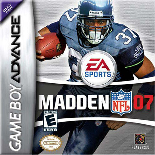 Madden NFL 07 (U)(Rising Sun) Box Art