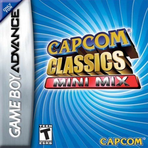 Capcom Classics - Mini Mix (U)(Rising Sun) Box Art
