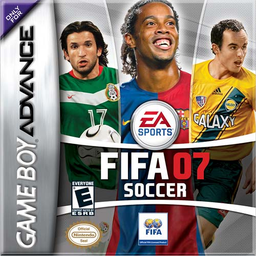 FIFA Soccer 07 (U)(Rising Sun) Box Art