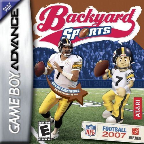 Backyard Sports Football 2007 (U)(Rising Sun) Box Art