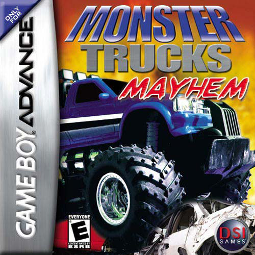 Monster Trucks Mayhem (U)(Sir VG) Box Art