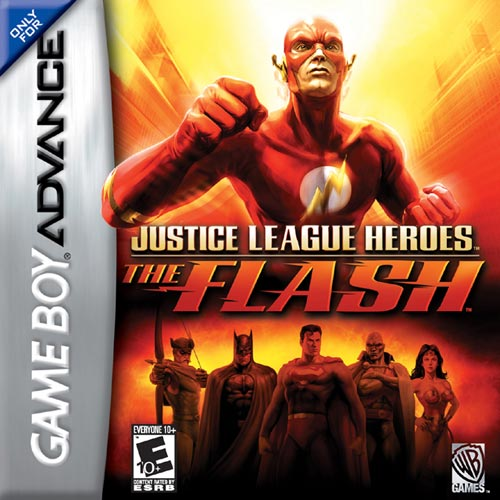 Justice League Heroes - The Flash (U)(Rising Sun) Box Art
