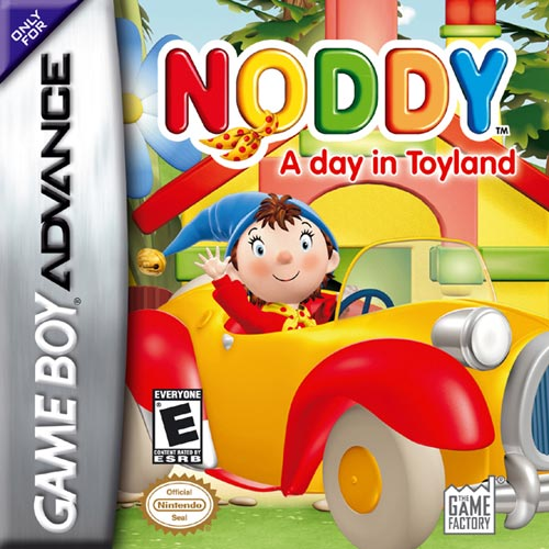 Noddy - A day in Toyland (U)(Rising Sun) Box Art