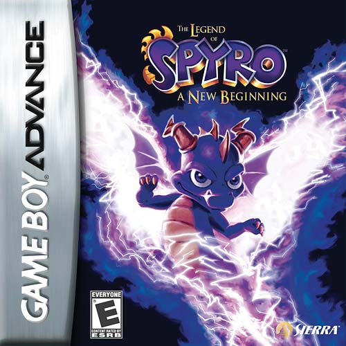 The Legend of Spyro - A New Beginning (U)(Rising Sun) Box Art