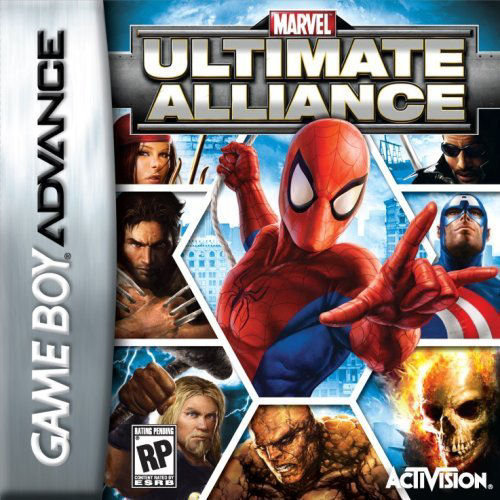 Marvel - Ultimate Alliance (U)(Rising Sun) Box Art
