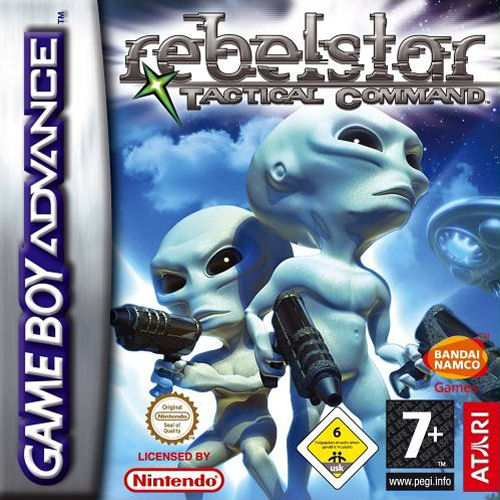 Rebelstar - Tactical Command (E)(WRG) Box Art