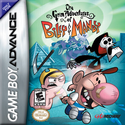 The Grim Adventures Of Billy And Mandy U Rising Sun Rom Gba