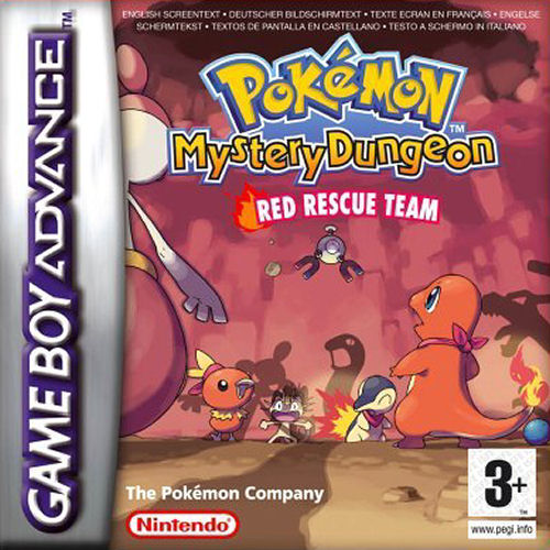 Pokemon Mystery Dungeon - Red Rescue Team (E)(Rising Sun) Box Art