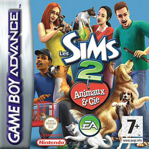 The Sims 2 - Pets (E)(Lightforce) Box Art