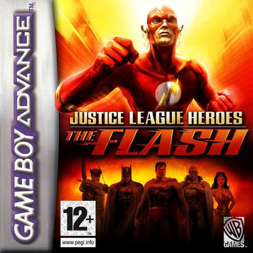 Justice League Heroes - The Flash (E)(Rising Sun) Box Art