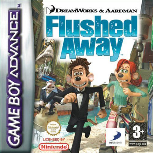 Flushed Away (E)(Rising Sun) Box Art