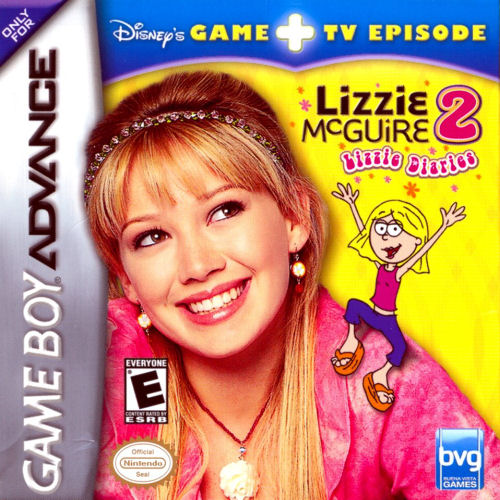 Lizzie McGuire 2 - Lizzie Diaries Special Edition (U)(Sir VG) Box Art