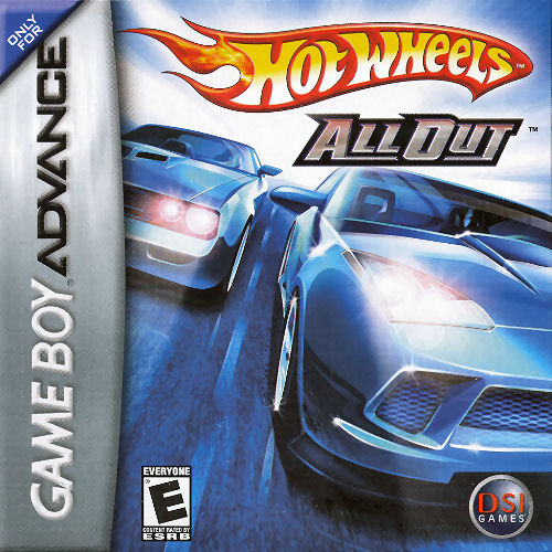 Hot Wheels - All Out (U)(Sir VG) Box Art