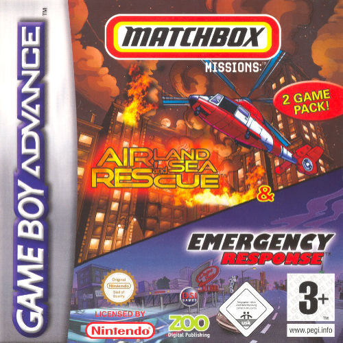 2 in 1 - Matchbox Missions (E)(Sir VG) Box Art
