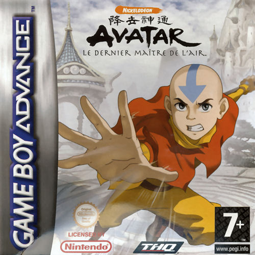 Avatar - The Legend of Aang (E)(Sir VG) Box Art