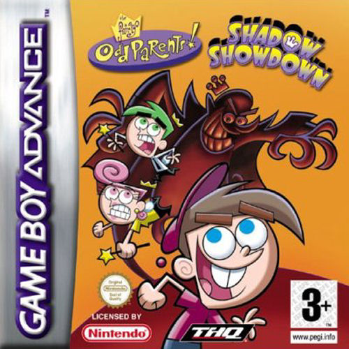The Fairly Oddparents - Shadow Showdown (E)(Sir VG) Box Art