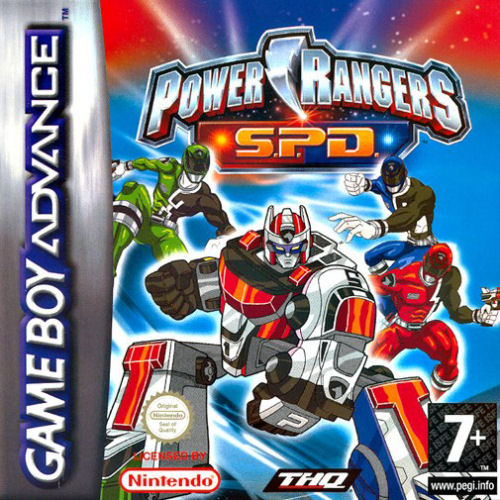 Power Rangers - SPD (E)(Independent) Box Art