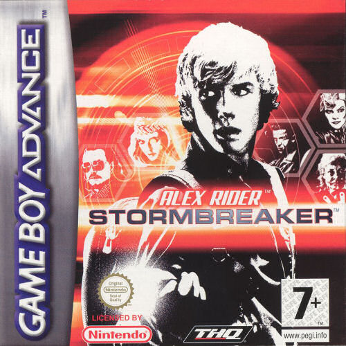 Alex Rider - Stormbreaker (E)(Sir VG) Box Art