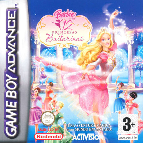Barbie in the 12 Dancing Princesses (E)(Sir VG) Box Art