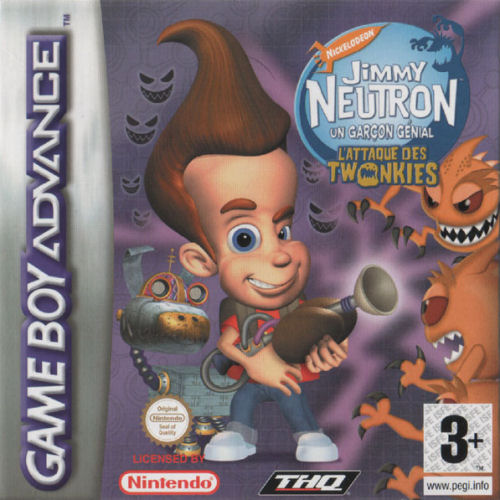 Jimmy Neutron - L'Attaque des Twonkies (F)(Independent) Box Art
