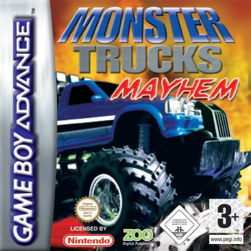 Monster Trucks Mayhem (E)(sUppLeX) Box Art