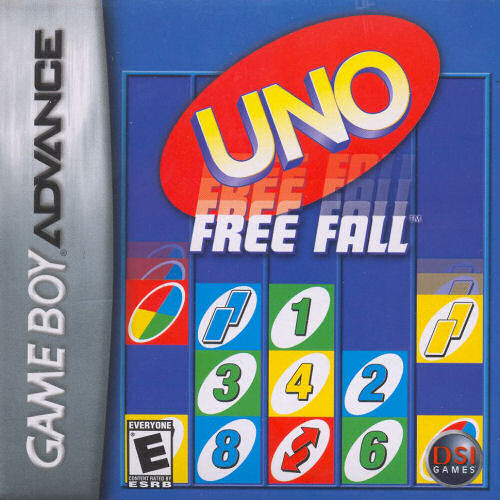 Uno Freefall (U)(Sir VG) Box Art
