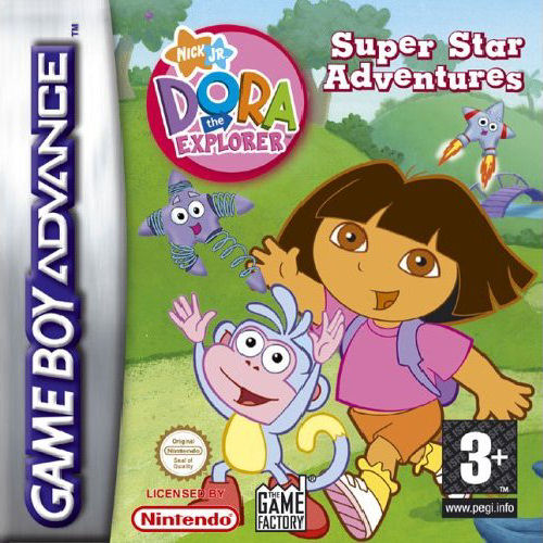 Dora the Explorer - Super Star Adventures! (E)(Sir VG) Box Art