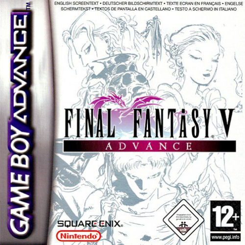Final Fantasy V Advance (E)(Eternity) Box Art