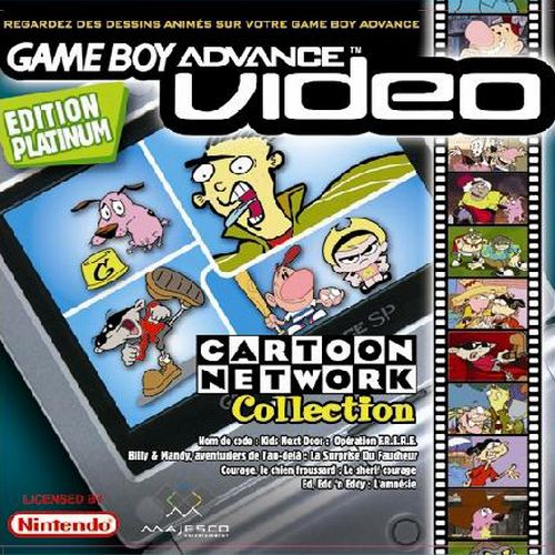 Cartoon Network Collection Edition Platinum Gameboy Advance Video