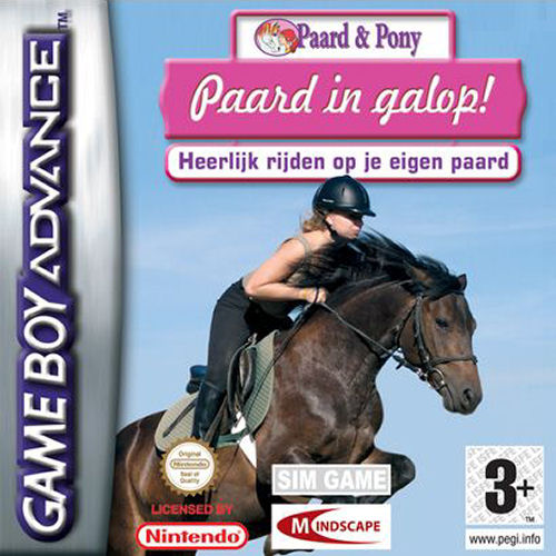 Paard & Pony - Paard in Galop (E)(sUppLeX) Box Art