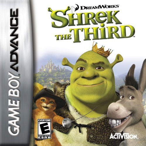 Shrek the Third (U)(Sir VG) Box Art