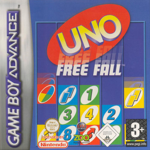 Uno Free Fall (E)(Sir VG) Box Art