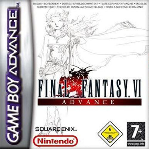 Final Fantasy VI Advance (E)(Eternity) Box Art