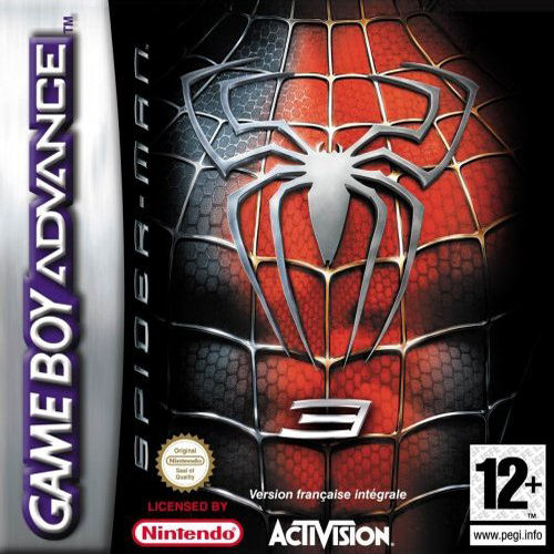 Spider-Man 3 (F)(Sir VG) Box Art