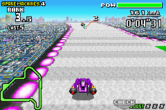 F-Zero - Maximum Velocity (U)(Mode7) Snapshot