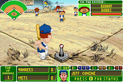 Backyard Baseball (U)(Venom) Snapshot
