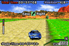 GT Advance 2 - Rally Racing (U)(Mode7) Snapshot
