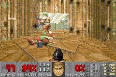 Doom II (U)(Mode7) Snapshot
