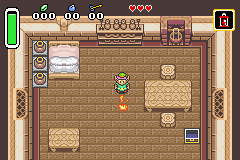 The Legend Of Zelda - A Link To The Past (U)(Mode7) Snapshot