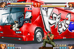 The King Of Fighters EX2 - Howling Blood (J)(Eurasia) Snapshot