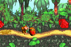 Donkey Kong Country (E)(Menace) Snapshot