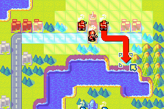Advance Wars 2 - Black Hole Rising (U)(Mode7) Snapshot