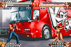 The King of Fighters EX2 - Howling Blood (E)(Rising Sun) Snapshot